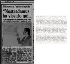 La Stampa-Nostradamus  22 Gennaio 1976