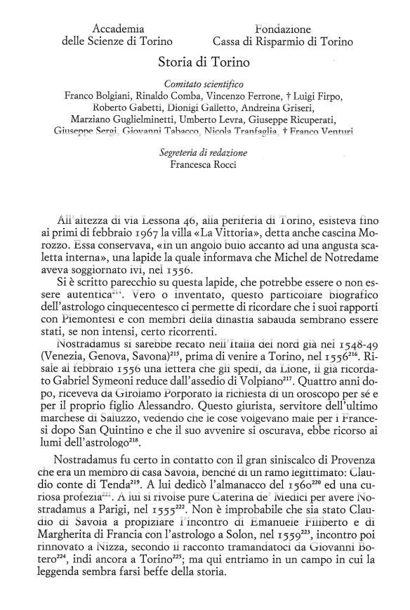 Nostradamus - Torino