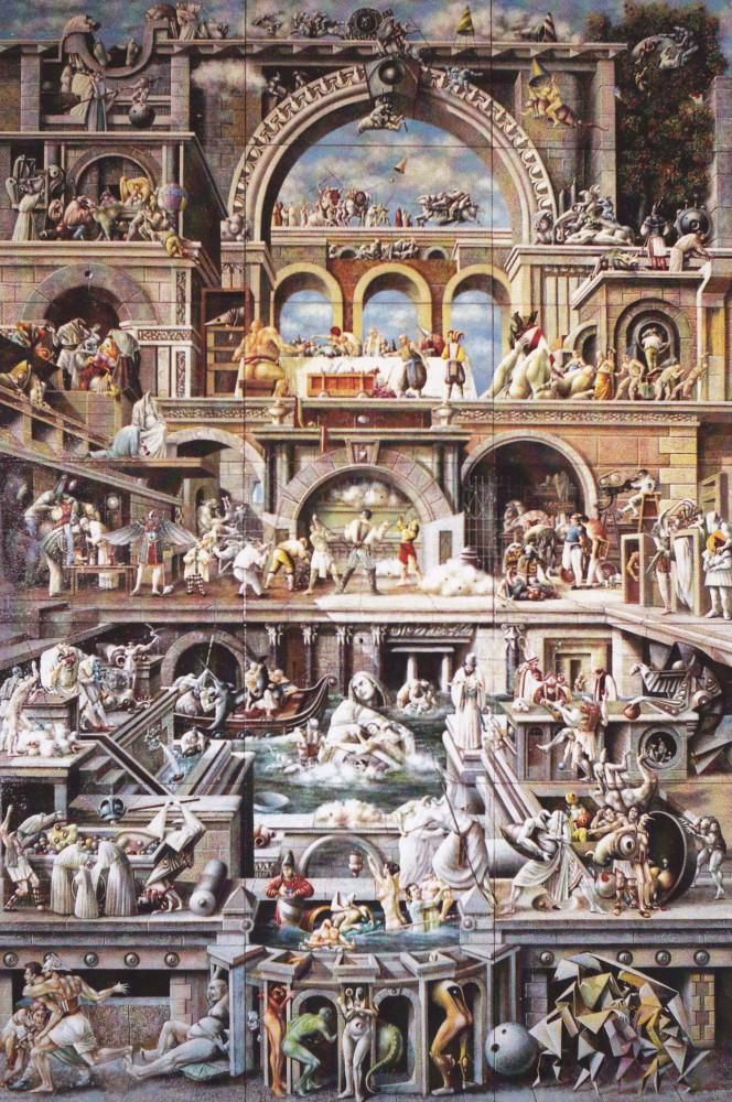 La Festa del Paradiso di Leonardo da Vinci  -  di Luca Garai (6/6)