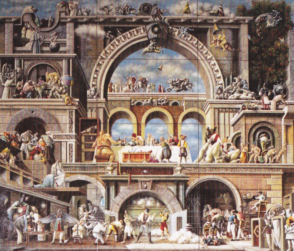 La Festa del Paradiso di Leonardo da Vinci  -  di Luca Garai (4/6)