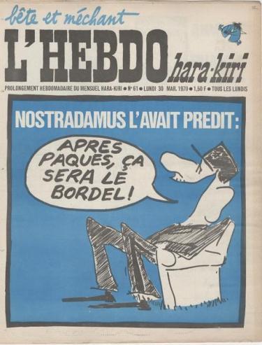 L'HEBDO- Nostradamus