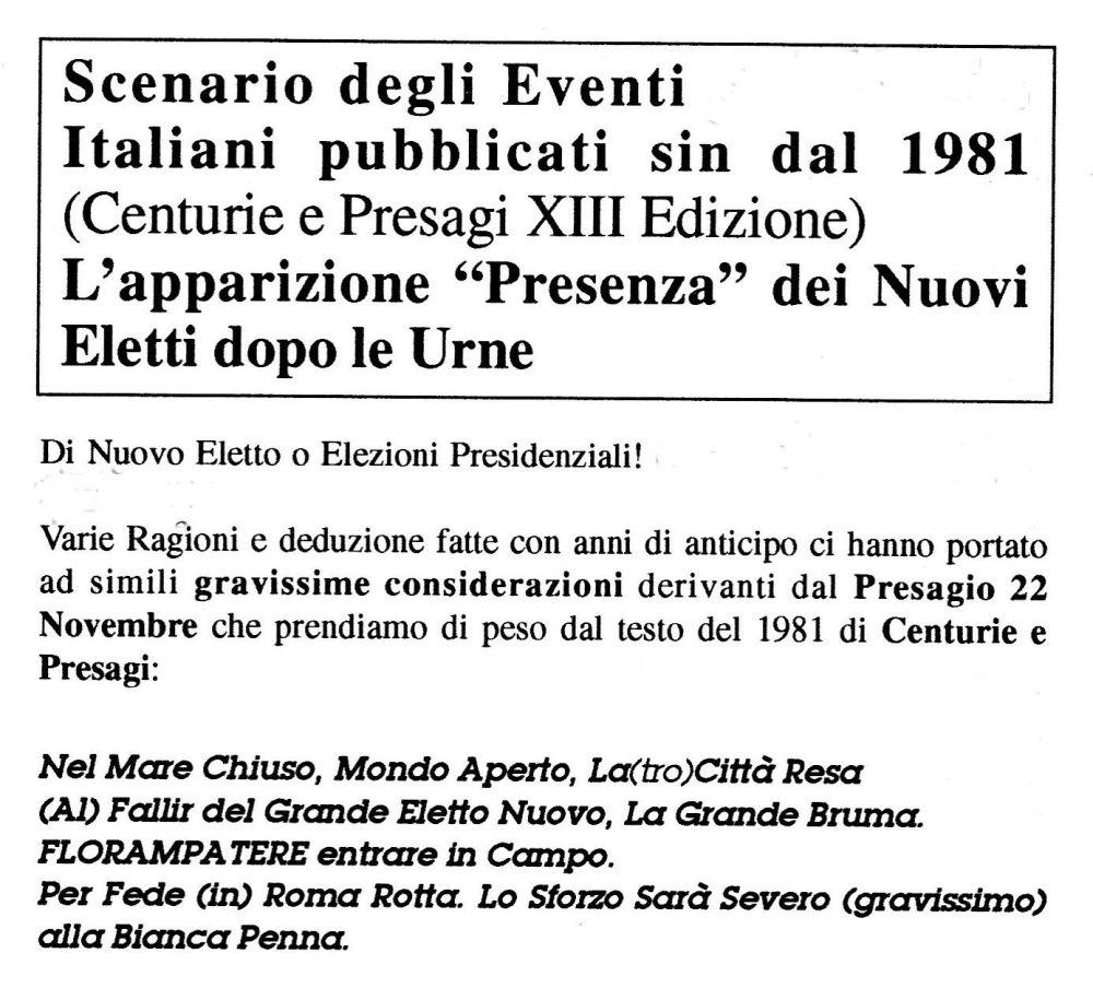 Scenario mondiale dal Mar Nero e poi all'Italia di Matteo Renzi (1/4)