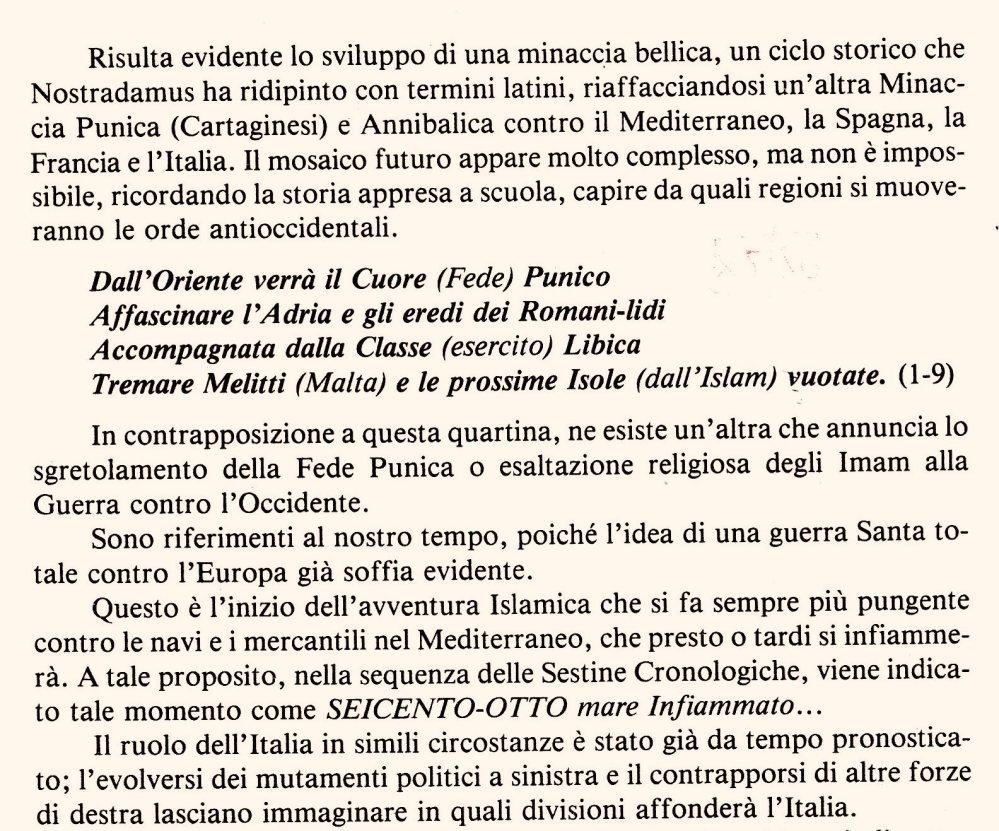 La Profezia dopo la fine del re della Sirte, l'altra faccia della Libia contro l'Italia .Vuoi la Pace preparati alla Guerra. (2/6)
