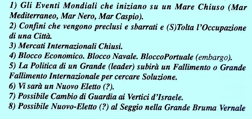Scenario mondiale dal Mar Nero e poi all'Italia di Matteo Renzi (3/4)