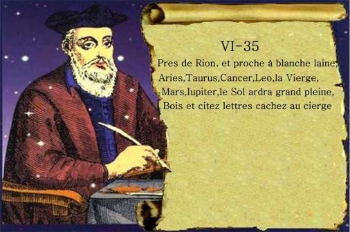 Nostradamus 6-35- bois